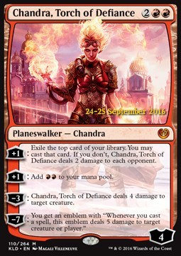 Chandra, Torch of Defiance, Kaladesh Promos