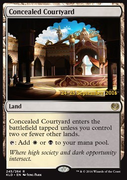 Concealed Courtyard, Kaladesh Promos