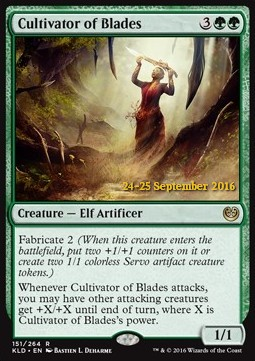 Cultivator of Blades, Kaladesh Promos