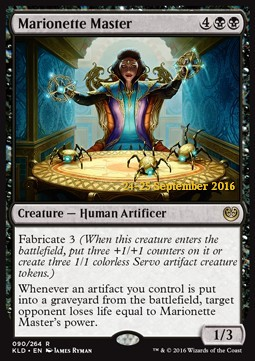 Marionette Master, Kaladesh Promos