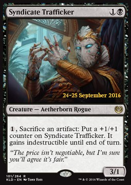Syndicate Trafficker, Kaladesh Promos