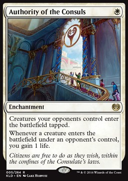 Authority of the Consuls, Kaladesh