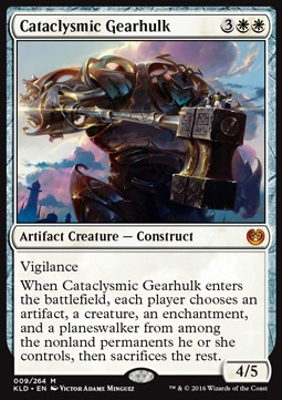 Cataclysmic Gearhulk, Kaladesh