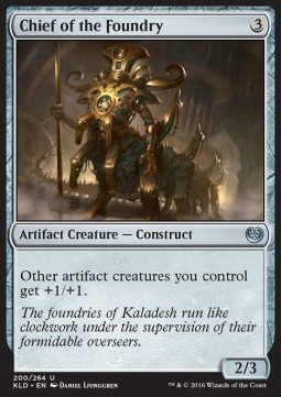 Chief of the Foundry, Kaladesh