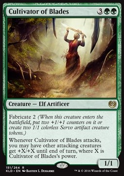 Cultivator of Blades, Kaladesh