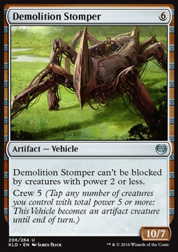 Demolition Stomper, Kaladesh