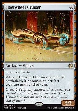 Fleetwheel Cruiser, Kaladesh