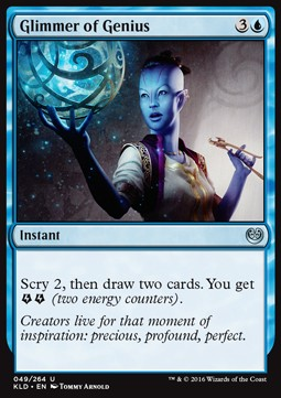 Glimmer of Genius, Kaladesh