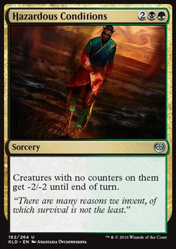 Hazardous Conditions, Kaladesh