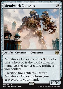 Metalwork Colossus, Kaladesh