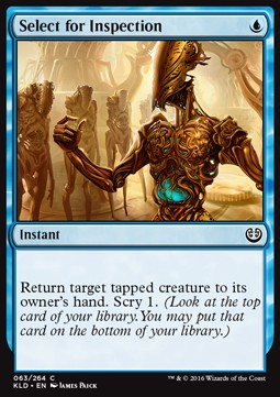Select for Inspection, Kaladesh