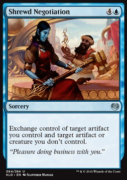 Shrewd Negotiation, Kaladesh
