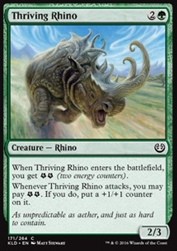 Thriving Rhino, Kaladesh