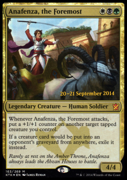 Anafenza, the Foremost, Khans of Tarkir Promos
