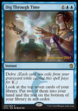 Dig Through Time, Khans of Tarkir Promos
