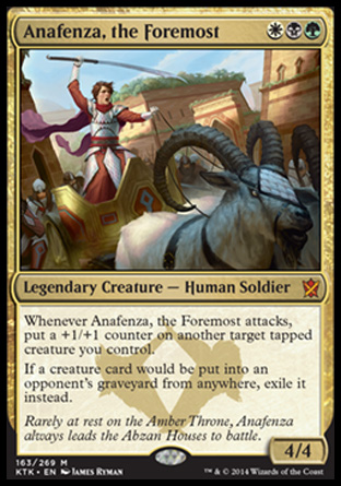 Anafenza, the Foremost, Khans of Tarkir