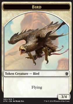 Bird Token, Khans of Tarkir