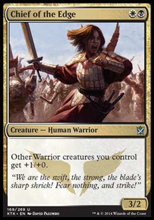 Chief of the Edge, Khans of Tarkir