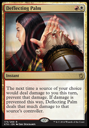 Deflecting Palm, Khans of Tarkir