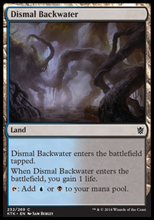 Dismal Backwater, Khans of Tarkir