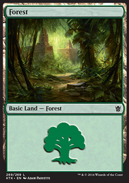 Forest, Khans of Tarkir