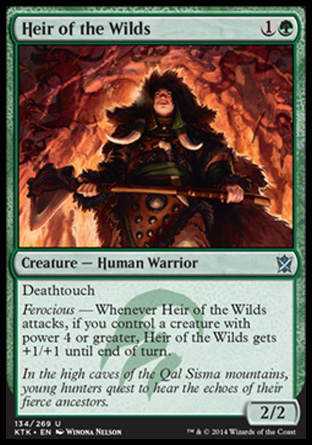 Heir of the Wilds, Khans of Tarkir