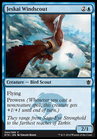 Jeskai Windscout, Khans of Tarkir
