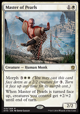 Master of Pearls, Khans of Tarkir