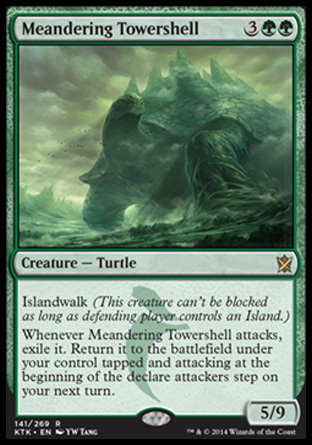 Meandering Towershell, Khans of Tarkir