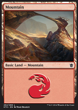 Mountain, Khans of Tarkir