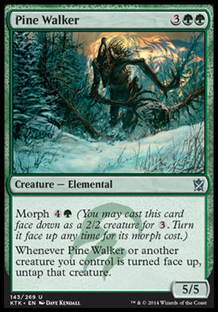 Pine Walker, Khans of Tarkir