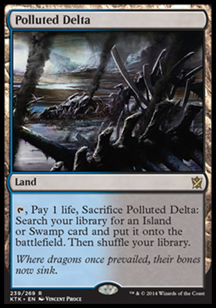 Polluted Delta, Khans of Tarkir