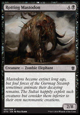 Rotting Mastodon, Khans of Tarkir