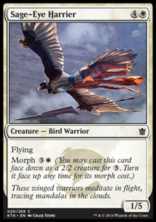 Sage-Eye Harrier, Khans of Tarkir