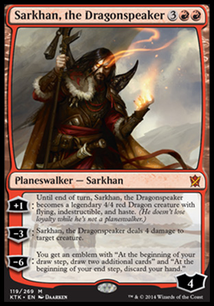 Sarkhan, the Dragonspeaker, Khans of Tarkir