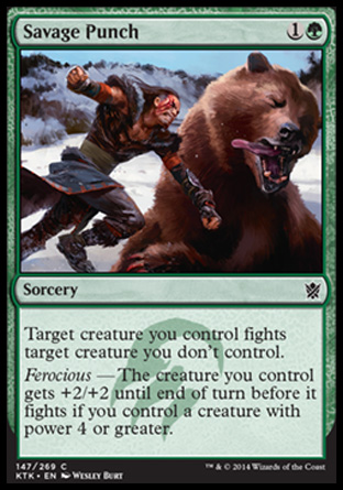 Savage Punch, Khans of Tarkir