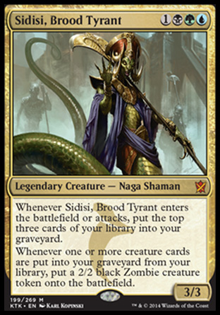Sidisi, Brood Tyrant, Khans of Tarkir