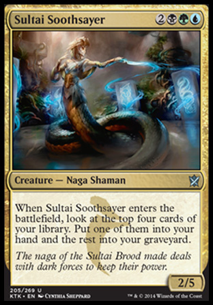 Sultai Soothsayer, Khans of Tarkir