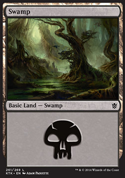 Swamp, Khans of Tarkir