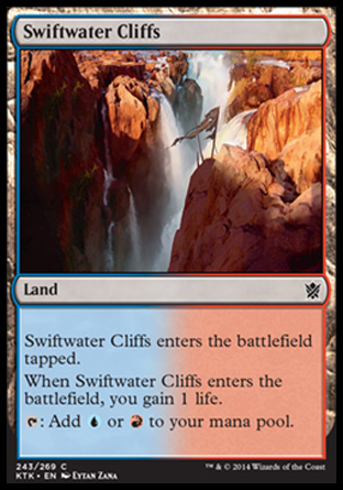Swiftwater Cliffs, Khans of Tarkir