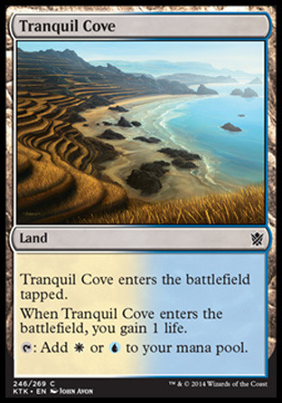 Tranquil Cove, Khans of Tarkir