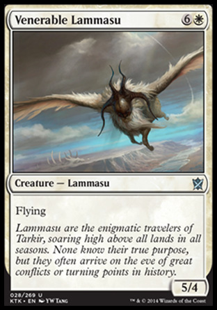 Venerable Lammasu, Khans of Tarkir