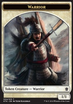 Warrior Token, Khans of Tarkir