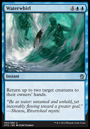 Waterwhirl, Khans of Tarkir