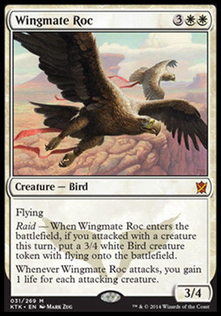 Wingmate Roc, Khans of Tarkir