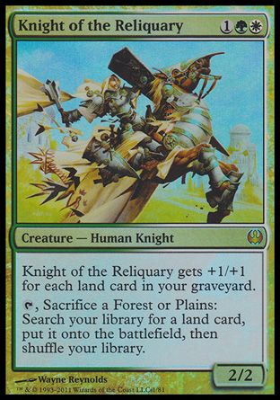Knight of the Reliquary, Knights vs Dragons