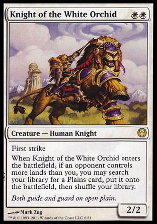 Knight of the White Orchid, Knights vs Dragons