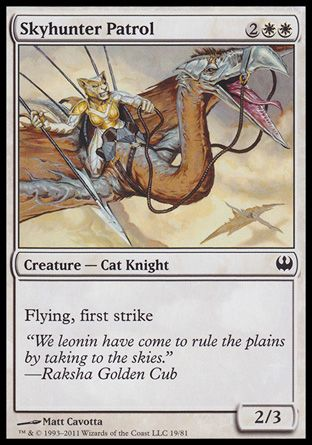 Skyhunter Patrol, Knights vs Dragons