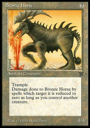 Bronze Horse, Legends