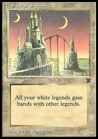 Cathedral of Serra, Legends